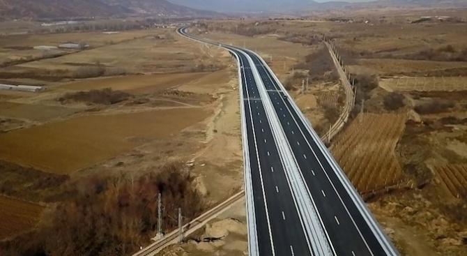 """Започна строителството на тунел """"Железница"""" отавтомагистрала """"Струма"""", както и на"""