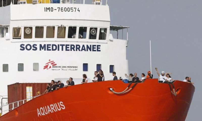 """Франция отказва да даде разрешение на кораба """"Акуариус"""" със 141"""