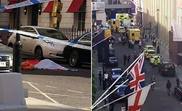 Шофьор се строполи на земята и почина на оживена улица