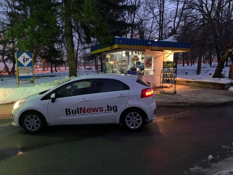 """Бензиностанция на """"Петрол"""" е била ограбена във Враца, научи първо"""