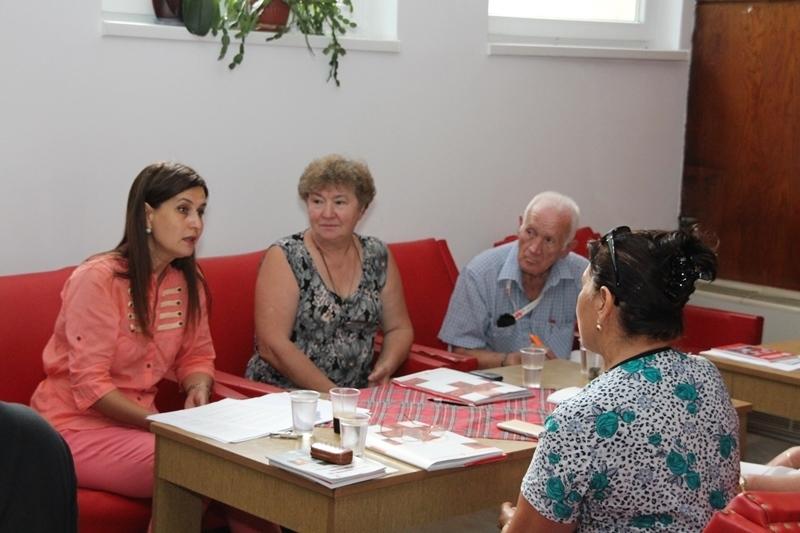 Областната организация на БЧК започна обучение на възрастен авариен екип