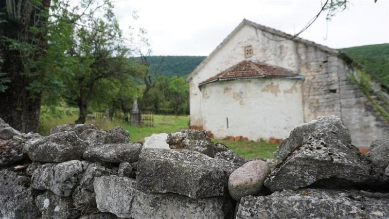 """Историята нацърквата """"Св. Георги""""край Орешец е дълга и интересна, пише"""