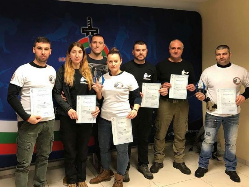 """Отборът по стрелба на СК """"Спартак – Враца"""" при ОД"""