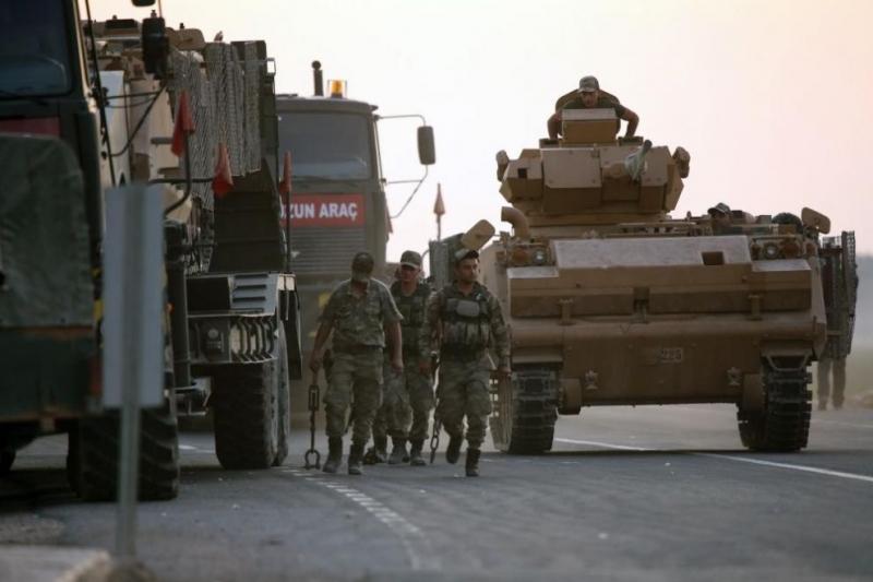 Турското министерство на отбраната заяви в неделя, чеще сведе до