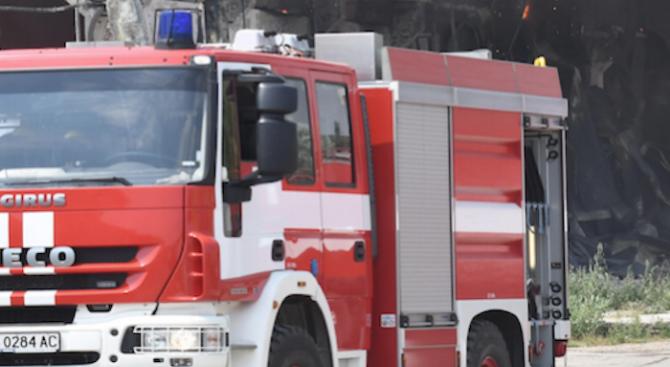 Тялото на 57-годишен мъж е открито при пожар. Огънят избухнал