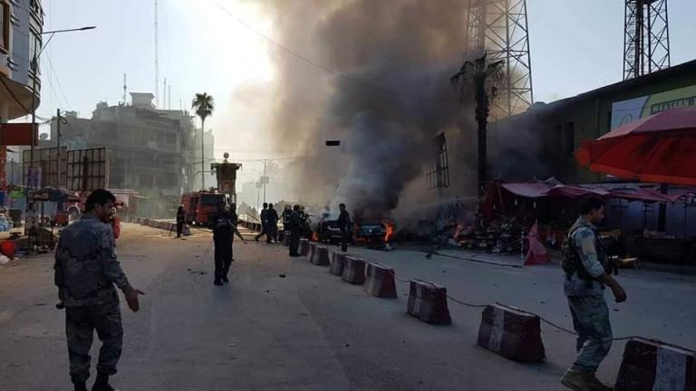 Най-малко 34 души са загинали при експлозия на заложена край