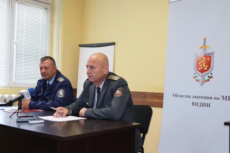 Видинските полицаи и огнеборци предприеха мерки за обезпечаване на реда