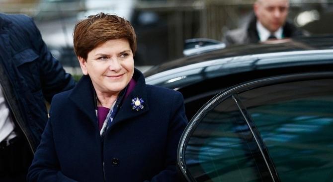 Бившият полски премиер и депутат от Европарламента Беата Шидло попадна