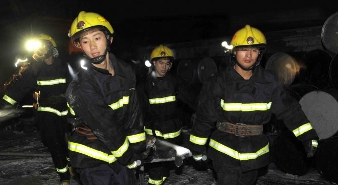 Броят на жертвите при експлозията в завода за пестициди в