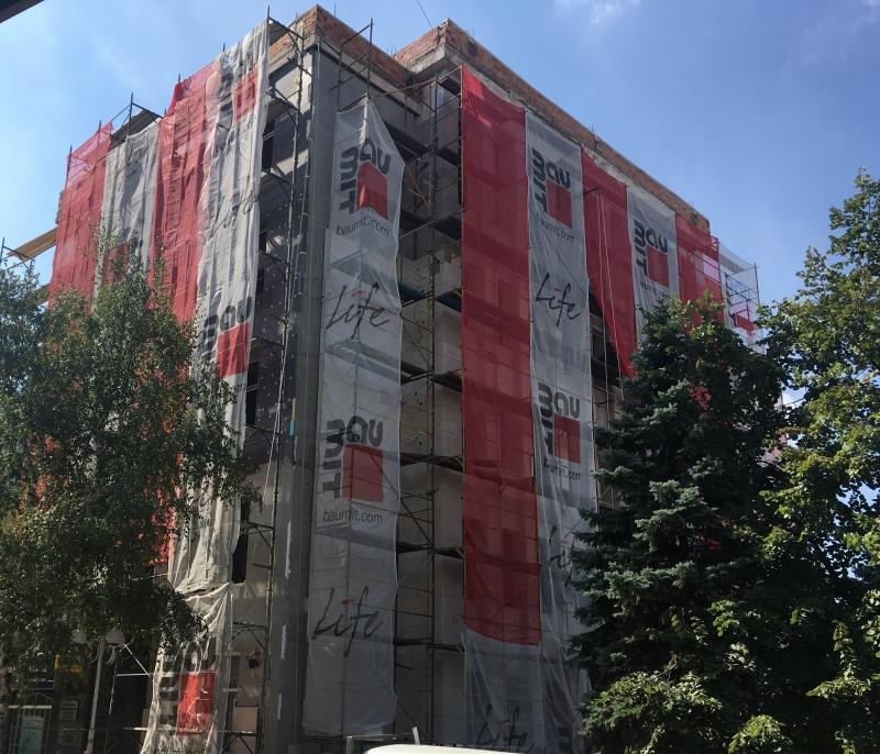Нова луксозна офис сграда се прави в центъра на Враца,