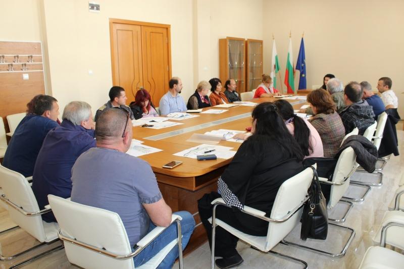 Днес в община Козлодуй се проведе заседание на Общинския щаб