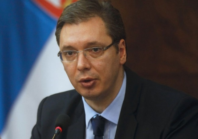 Сръбският президент Александър Вучич няма да се качва на самолет