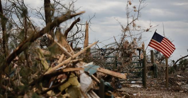 Бурите в САЩ взеха 7 жертви