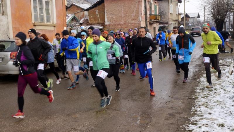 56 любители на планинското бягане от Враца, Мездра, Крета, Видин,
