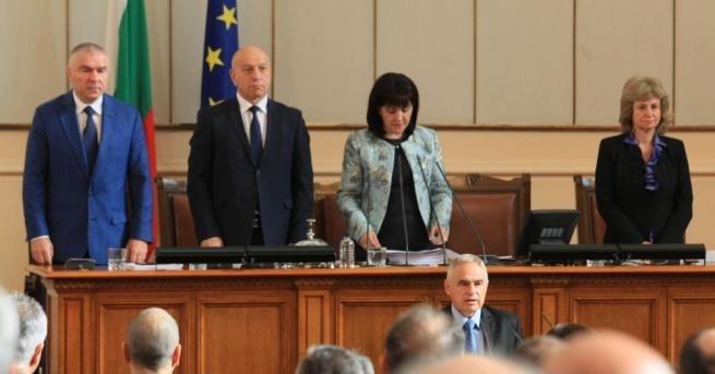 Георги Вергиев положи клетва като народен представител от парламентарната група
