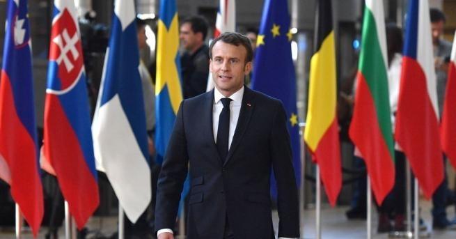 Френският президент Еманюел Макронще предложи на ЕС механизъм за сътрудничество