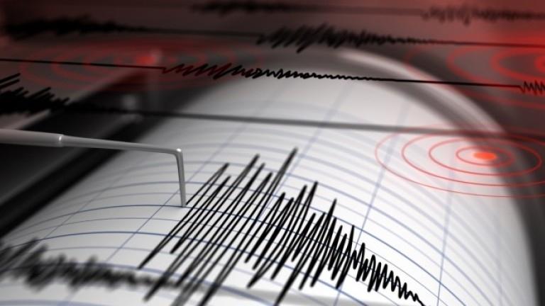 Земетресение с магнитуд 3.8 по Рихтер бе регистрирано днес в