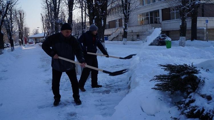 Кмет и общинари чистиха в Мездра