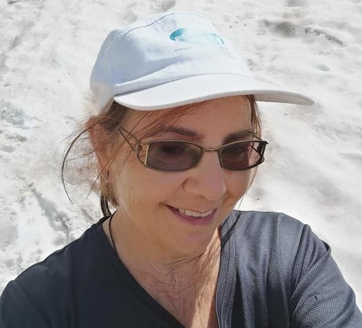 Журналистката Лили Тодорова еоткритата в Рила жена, която спасителите издирваха