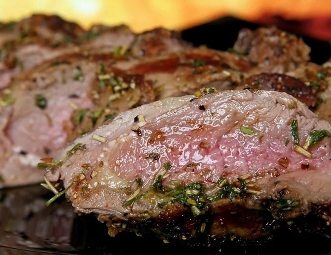 Консумацията два пъти седмично на червено свинско или телешко месо