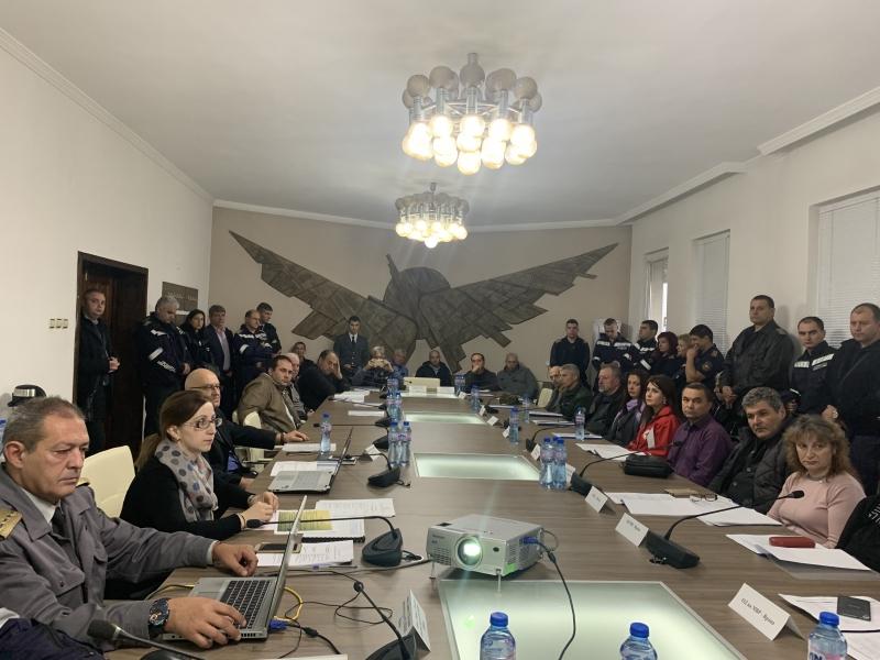 Експерти заседаваха във Враца по плана за защита при бедствия