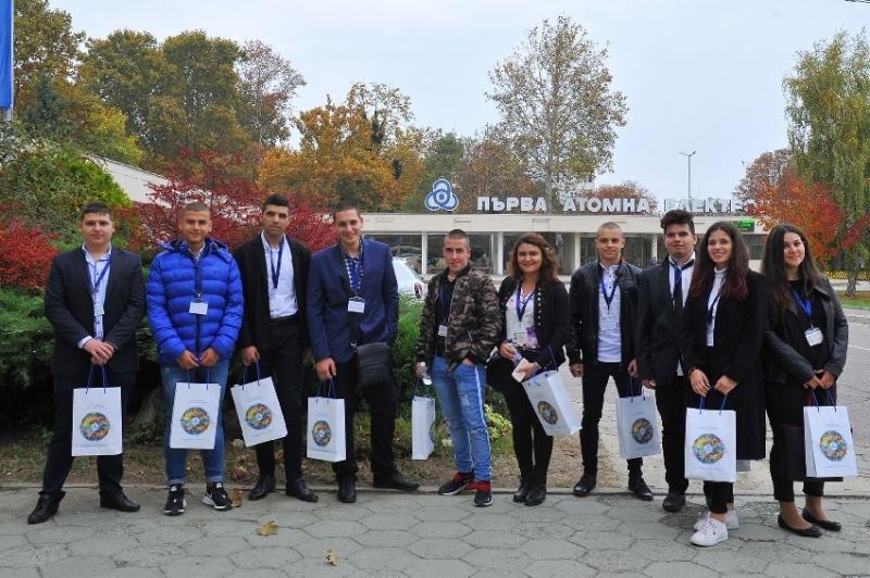 Гимназисти от Козлодуй бяха мениджъри на АЕЦ за ден