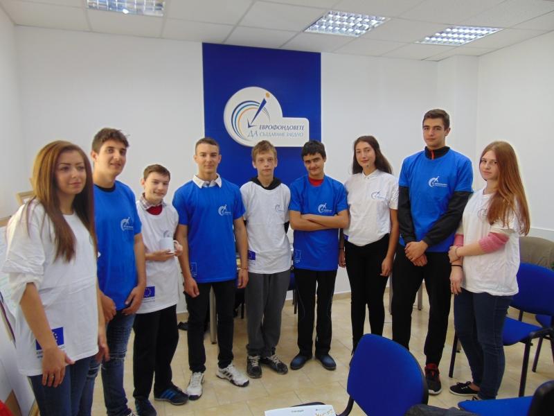 Ученици тренираха за мениджъри в ОИЦ – Враца