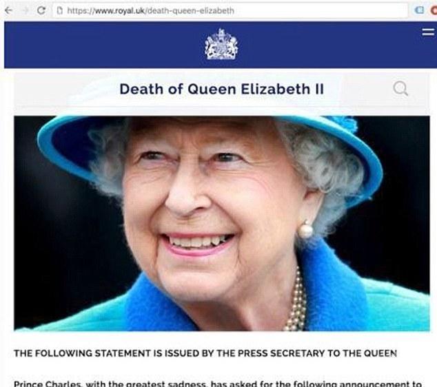 "Русия ""уби"" кралица Елизабет II"