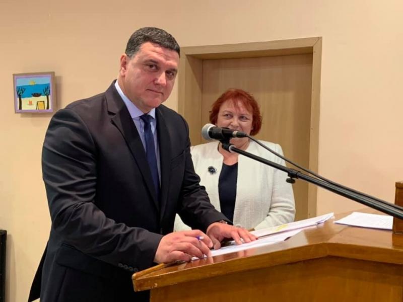 Росен Добрев и общинските съветници положиха клетва в Оряхово /снимки/