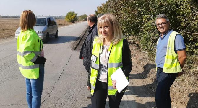 Стартира работата по 4-километров участък от третокласния път Мездра –