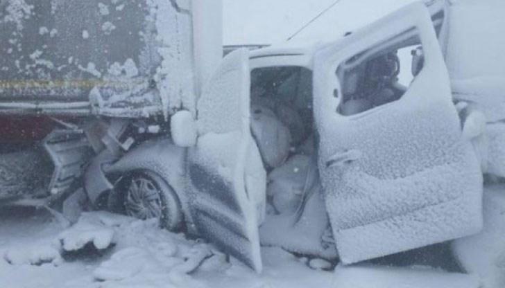 31 годишна жена от монтанското село Златия е загиналата вчера