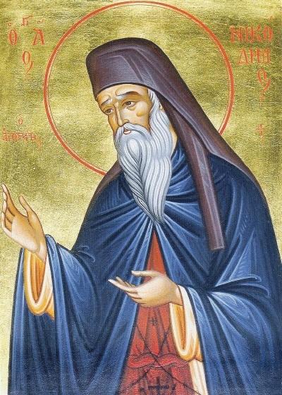 Днес Православната църква почита паметта наСв. Никодим Светогорец. Кратко животоописание