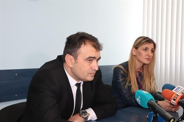Окръжният прокурор Ваня Ненкова и директорът на областната дирекция на