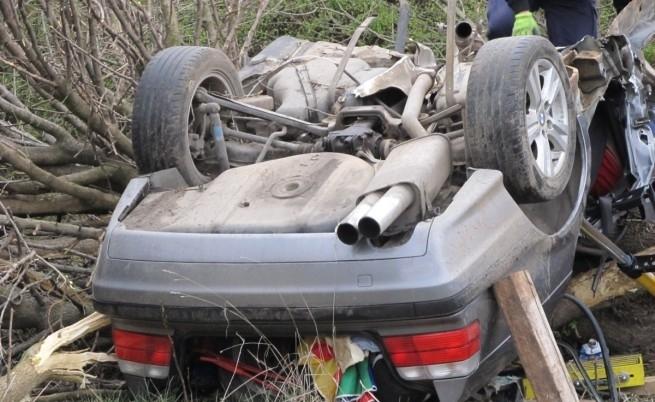 Млад шофьор беше застигнат и ударен от автомобил на Околовръстния