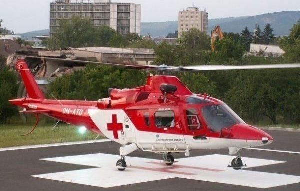 Процедурата по закупуване на медицински хеликоптер, оборудван с необходимата медицинска
