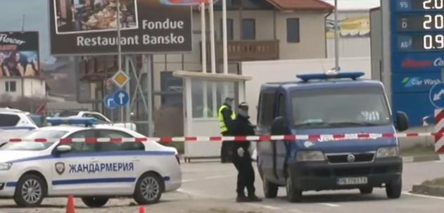 В неделя ситуацията на КПП-то в Банско е спокойна. Ски-курортът