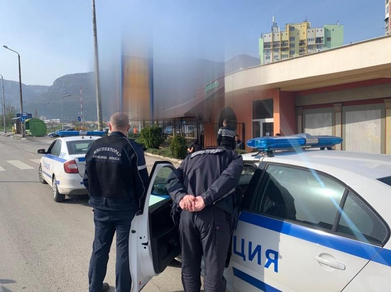Съвместна проверка на Инспектората и полицията установи 9 лица, нарушаващи