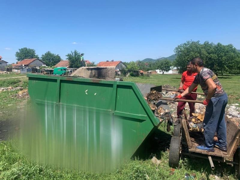 За последните 2 седмици са извозени над 20 кубика отпадъци