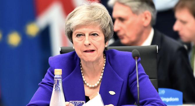 Британският премиер Тереза Мей съобщи на депутатите, че може да