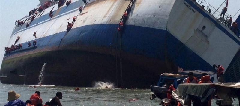 Най-малко 86 души са загинали при потъване на ферибот в