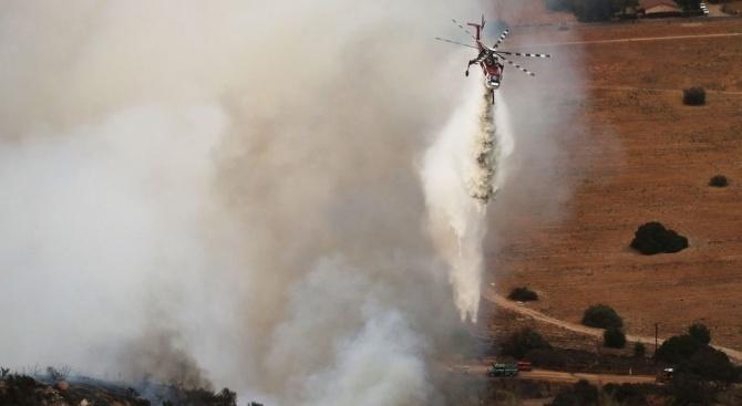 Пилот на хеликоптер загина днес, след като машината му се