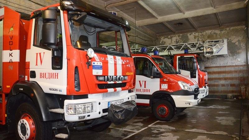 Видинските огнеборци припомнят мерките за пожарна безопасност през зимата