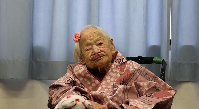 Броят на столетниците в Япония надхвърля за първи път 70