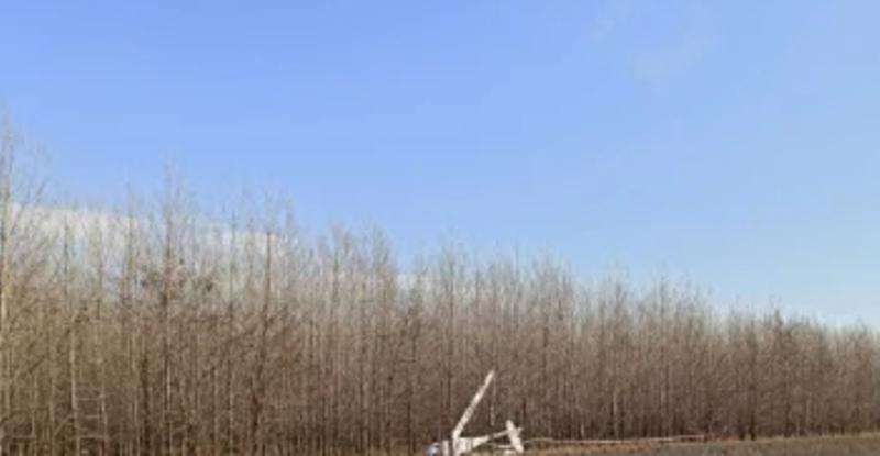Самолет падна край русенско село