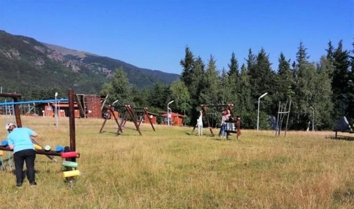 Обновиха атракционен парк край Чипровци /снимки/