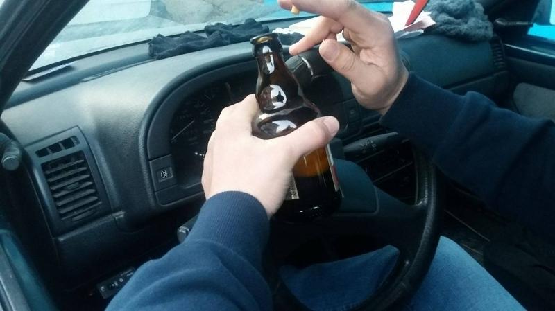 Пиян шофьор преспа в ареста