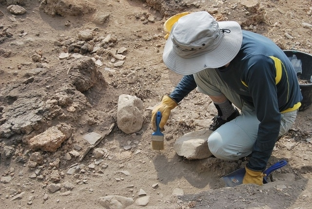 Снимка: Родни археолози с епохално откритие край Монтана