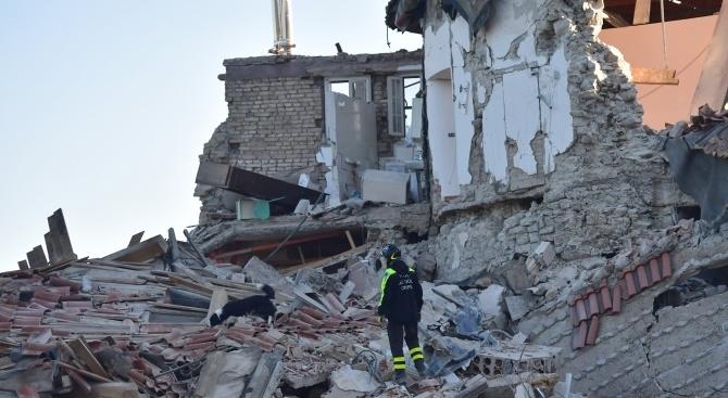 ЕК дава 15 милиона евро помощ на Албания след земетресението