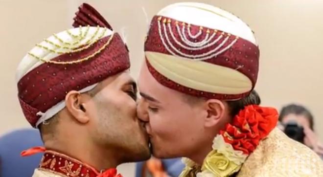 Потресаващо! Първият гей брак между мюсюлмани вече е факт /видео/