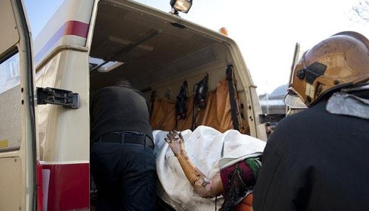 Починала е жената, която падна по невнимание в запален от